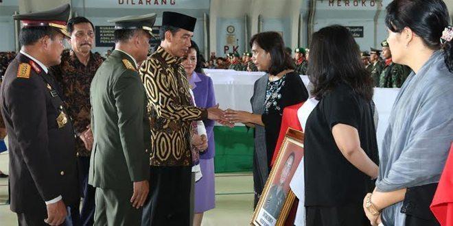 Panglima TNI : Wajah Mereka Berduka tetapi Dihati Ada Kebanggaan