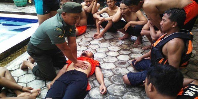 SAR Grabag Dilatih Menangani Kecelakaan Perairan