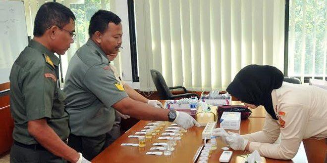 POM TNI Lakukan Pendadakan Test Urine
