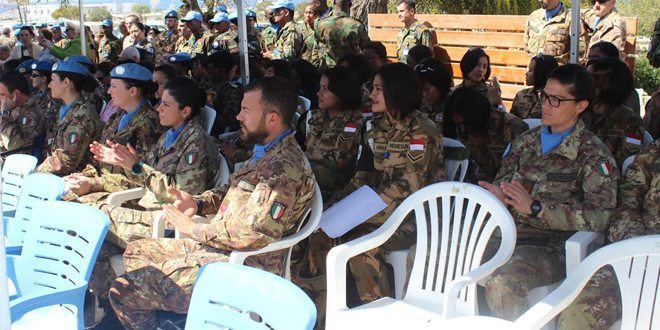 Prajurit Wanita TNI Kontingen Garuda 2016 Rayakan Hari Wanita Sedunia di Lebanon