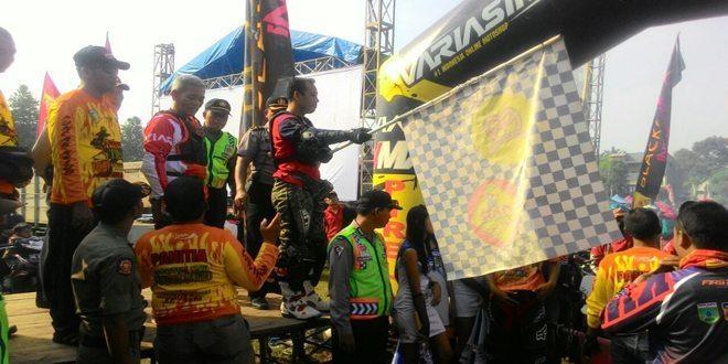 Riders Kodim, Polres dan Polresta Meriahkan Hari Jadi Kab. Kediri