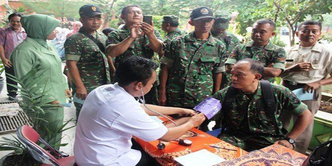 Donor Darah Peringati Hari Kartini, TNI dan Persit Kodim Blora Ikut Partisipasi