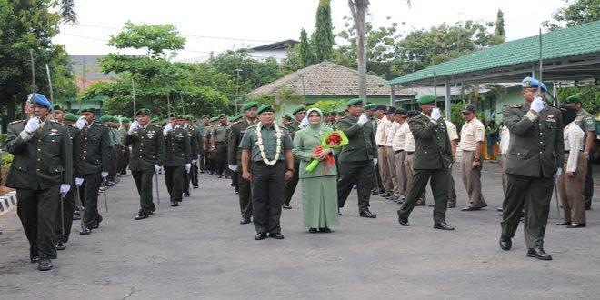 Korem 063/Sgj Adakan Tradisi Penyambutan Calon Danrem