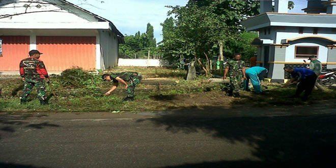 Koramil Senori Dukung Lomba Desa Tingkat Kabupaten