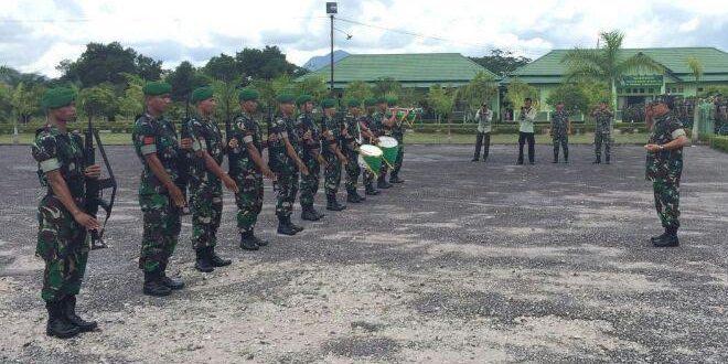 Pangdam XII/Tpr Kunjungi Satuan Jajaran