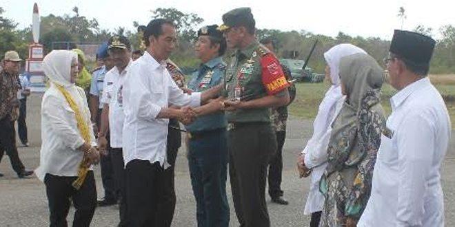 Presiden RI Kunjungi Wilayah Kodam XVI/Pattimura