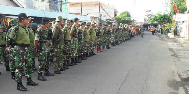 Kodim 0831/Surabaya Timur Menggelar Gerakan Nasional Indonesia Bersih