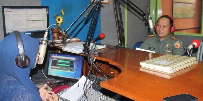 Dukung Swasembada Pangan, Dandim Bojonegoro On Air di FM 95,8 Mhz Radio Malowopati