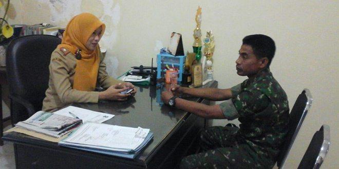 Babinsa Koramil Tandes, Gelar Komsos di Kelurahan Simomulyo Surabaya