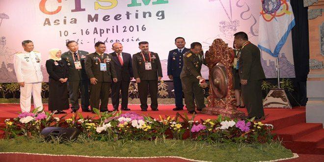 Panglima TNI: CISM Organisasi Dunia yang Sangat Strategis