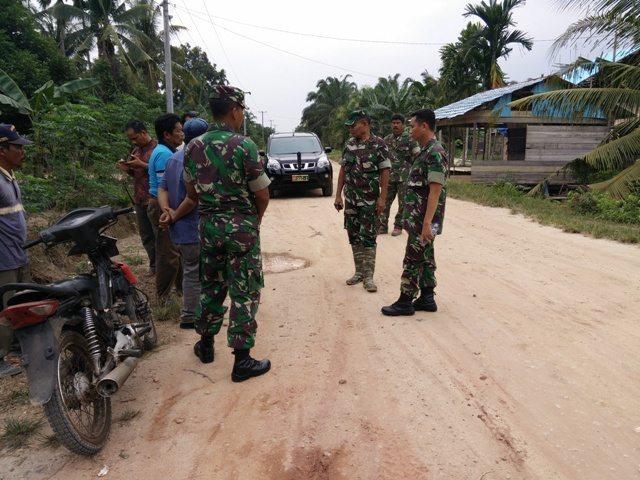Jalan Beringin Kelurahan Tanjung Penyebal Dijadikan Sasaran TMMD ke-96 Kodim 0320/Dumai