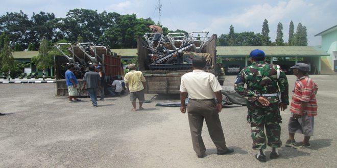 Kodim 0104/Aceh Timur Terima Tracktor dari Kementan