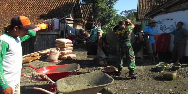 Koramil 08 Pakis Andil Dalam Desa Membangun