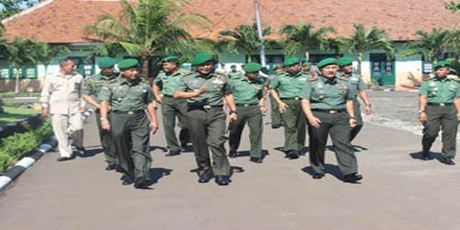 Kunjungan Kerja Dankodiklat TNI AD ke Pusdikkes Kodiklat TNI AD