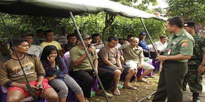 Pusat Penerangan TNI Adakan Penyuluhan Narkoba