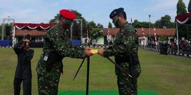 Yonif 613/Raja Alam Resmi Menjadi Batalyon Raiders