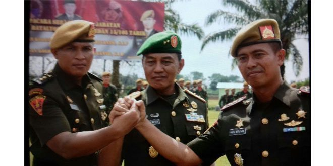 Letkol Arm Iwan Afrianto, S.I.P. Jabat Danyon Armed 15/105 Tarik