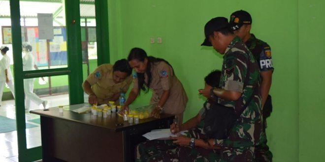 Prajurit TNI di Papua Bersih-Bersih Narkoba