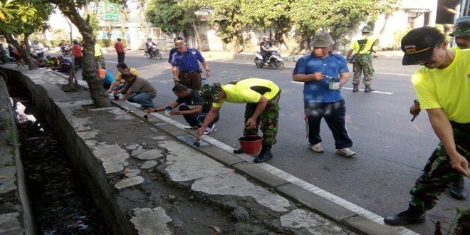 Kodim 0830/Surabaya Utara Galakkan Gerakan Jum'at Bersih