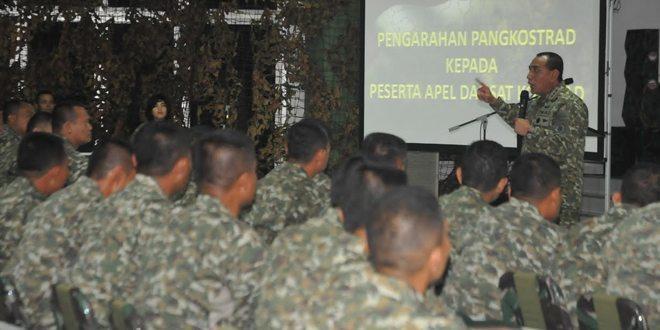 Pangkostrad Tutup Apel Komandan Satuan Jajaran Kostrad Terpusat TA. 2016