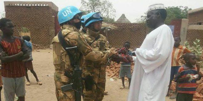Satgas Batalyon Komposit TNI Bantu Warga Darfur