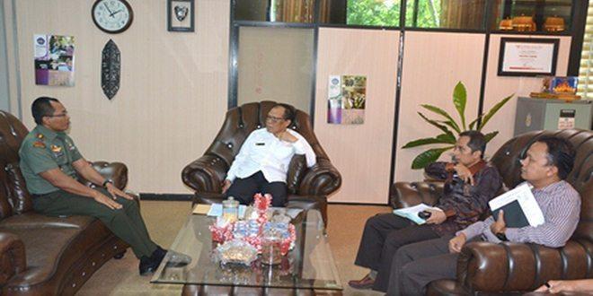 Danrem Kunjungi Rektorat Universitas Lampung