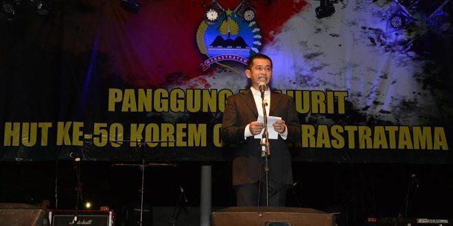Panggung Prajurit Dalam Rangka HUT Ke 50 Korem 074/Warastratama