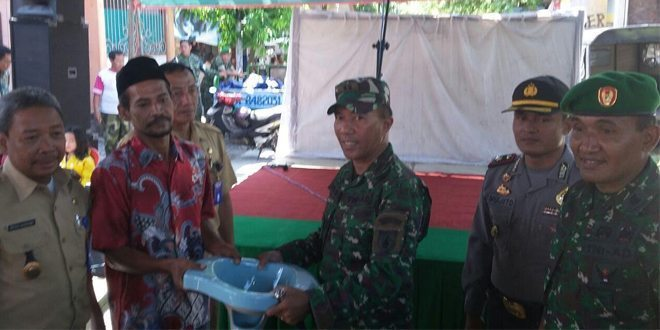 Kodim 0831/Surabaya Timur Canangkan Program Pembangunan Jaban