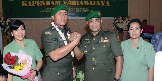 Letnan Kolonel Sinthu Bas Ignatius, Resmi Jabat Kapendam V/ Brawijaya