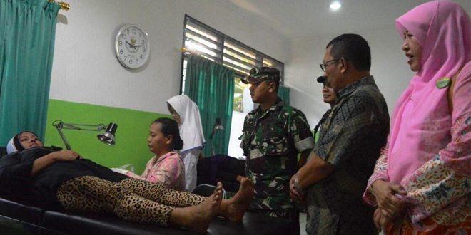 Kendalikan Penduduk Kodim 0507/Bekasi adakan KB Kesehatan