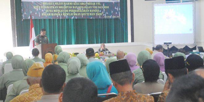 Sinergitas KBT Dengan TNI AD Dalam Menangkal Radikalisme, Terorisme Dan Narkoba