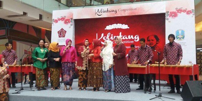 Semarak Hari Kartini, Persit Kartika Chandra Kirana Daerah V/ Brwawijaya Ikuti Event Kolintang Competition