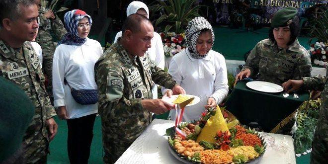 Pangkostrad Pimpin Syukuran Hut Ke-55 Kostrad