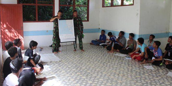 Prajurit Yonzipur 16/DA Bekali Keterampilan Navrad Peserta Training PMI Banda Aceh