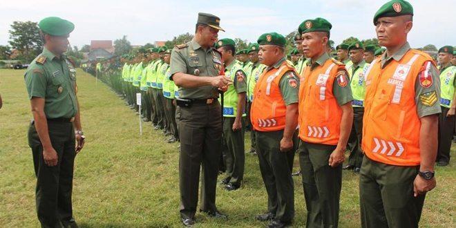 Apel Gelar Pasukan Pengamanan Kunjungan Kerja Presiden RI Di Wilayah Brebes