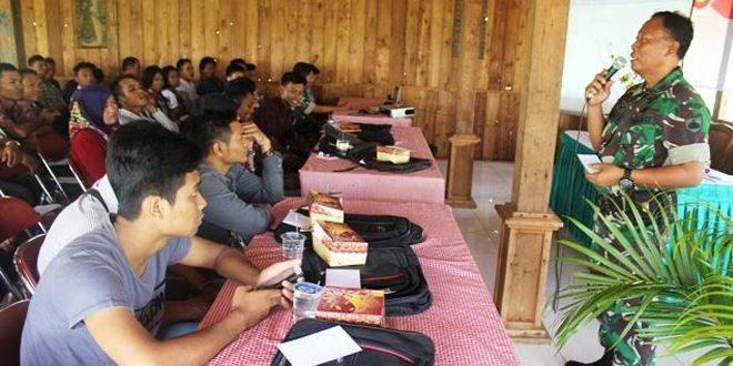 Pasiter Kodim Blora, Ceramah Bela Negara Bagi Generasi Muda
