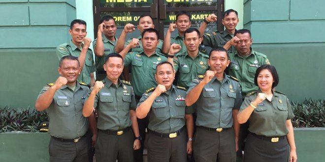 Setelah Penrem 052/Wijayakrama, Kini Giliran Penrem 051/Wijayakarta Terima Asistensi Pendam Jaya