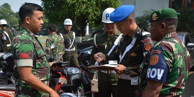 PM Kostrad Gelar Operasi Penegakan Ketertiban di Markas Kostrad