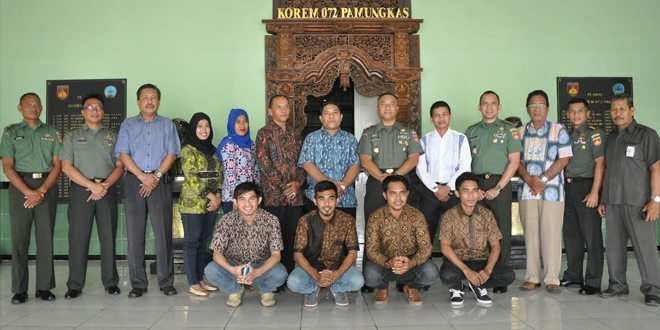 Danrem Terima Audiensi Dari IKPM Provinsi Maluku Utara