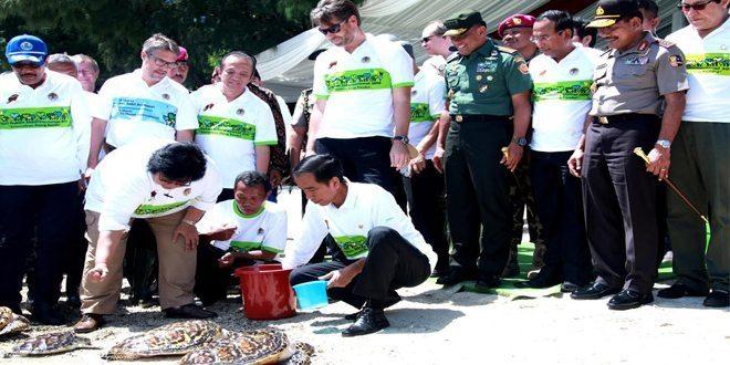 Presiden Jokowi : Ilmu Pengetahuan dan Kelestarian Alam Warisan untuk Anak Cucu