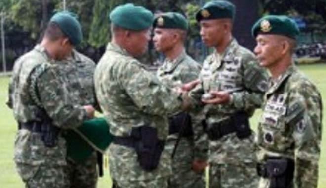 Mayor Czi Bayu Kurniawan Pimpinan Batalyon Zipur 10 Kostrad