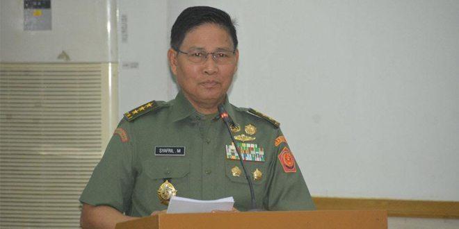 Itjen TNI Lakukan Pengawasan Dan Pemeriksaan Di Jajaran Kodam II/SWJ