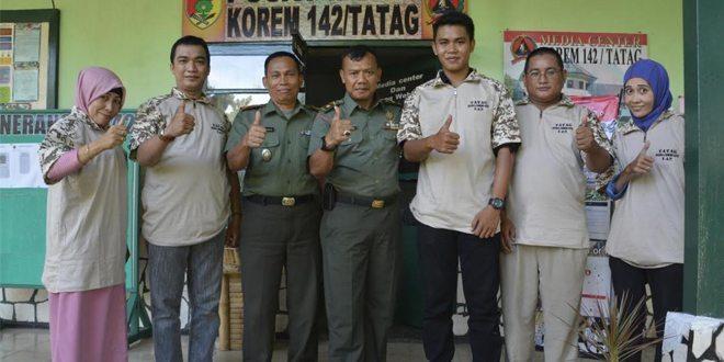 """Bangun Sinergitas TNI-Media Melalui """" Tatag Media Community"""""""