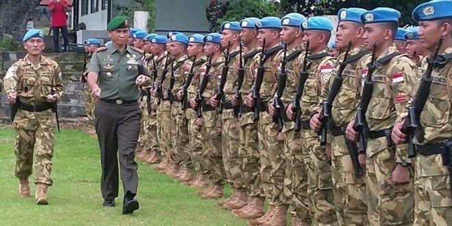 Rasa Haru Dan Bangga Warnai Penyambutan Kontingen UNAMID XXXV-A Yonif 721/MKS Di Home Base