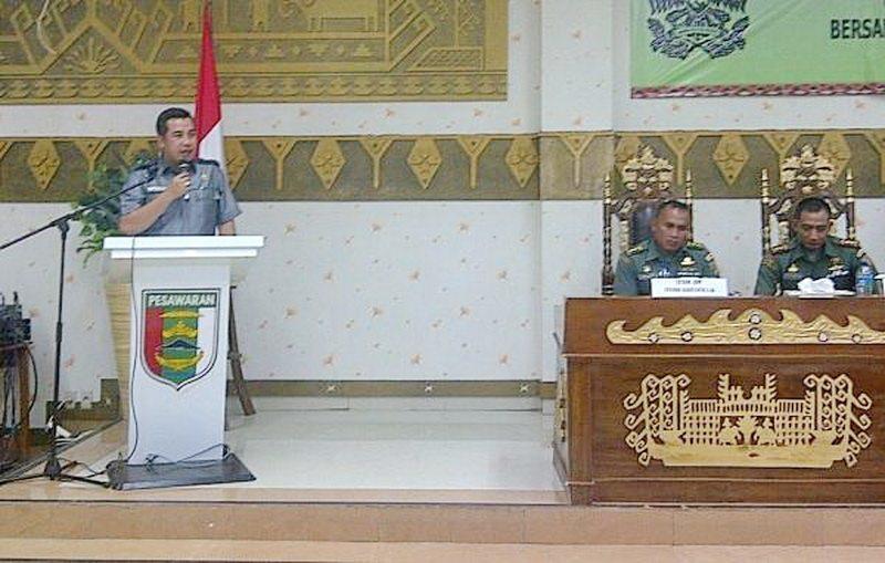 Banyak Jasa Dandim 0421/Lamsel Pada Kabupaten Pesawaran Provinsi Lampung