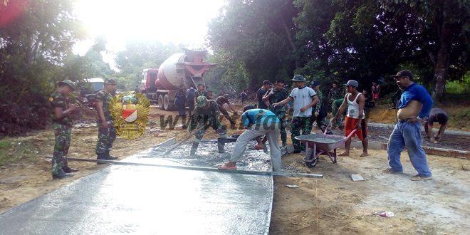 Tim Wasev Mabes TNI Kunjungi Lokasi TMMD