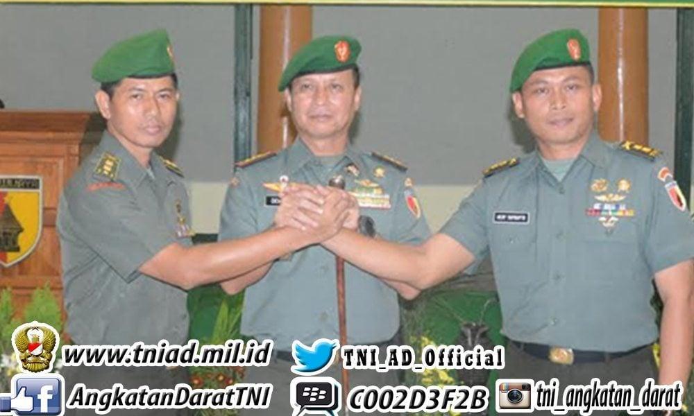 Letkol Inf Hery Suprapto Jabat Kasrem 084/BJ