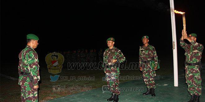 Apel Komandan Satuan Tersebar Kodam IM di Tutup