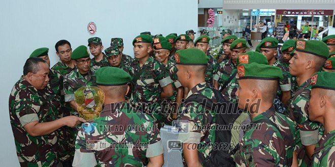 Pangdam XII/Tpr Berangkatkan Kontingen Ton Tangkas