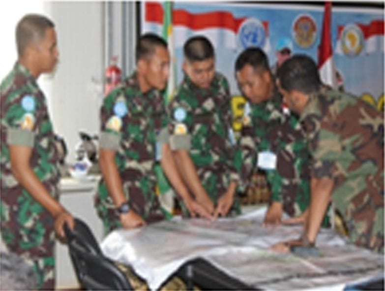 47 Perwira TNI Satgas Indobatt-02 Ikuti Induction Training di Darfur